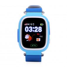 Детские GPS часы Wonlex GW100 Q80 голубые в Кирове