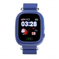 Детские GPS часы Wonlex GW100 Q80 синие в Кирове