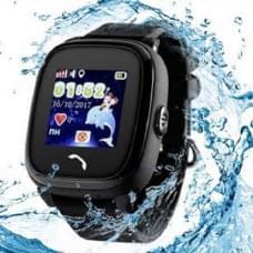 Детские GPS часы Wonlex GW400S DF25 W9 черные в Кирове