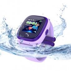 Детские GPS часы Wonlex GW400S DF25 W9 фиолетовые в Кирове